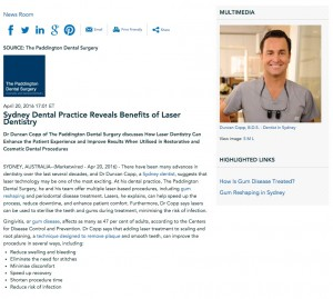Dr. Copp discusses the benefits of laser dentistry
